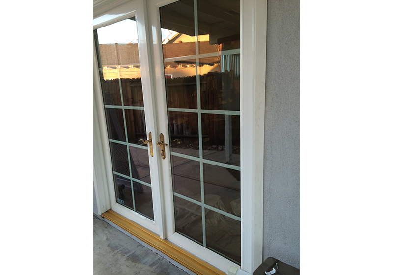 French Glass Door Window Cleaning