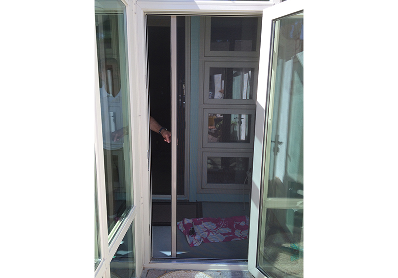 Disappearing Screen Door Installation, Huntington Beach