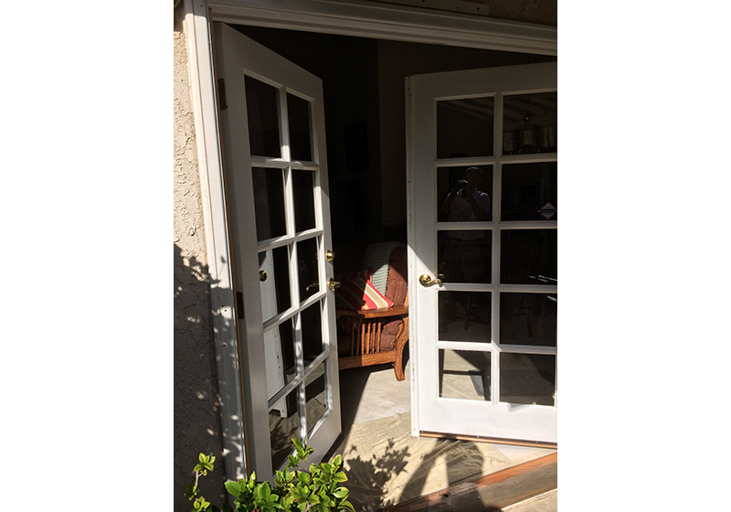 Double French Doors Cleaning