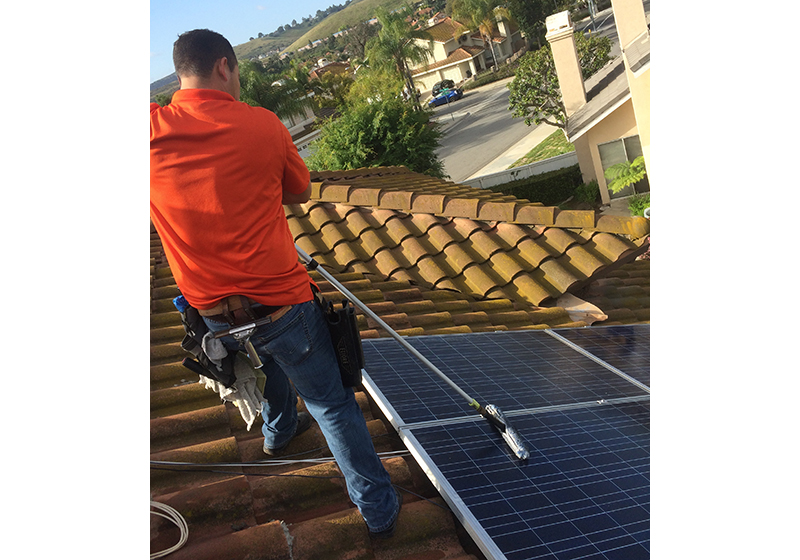 Expert Solar Panel Cleaning in Orange County