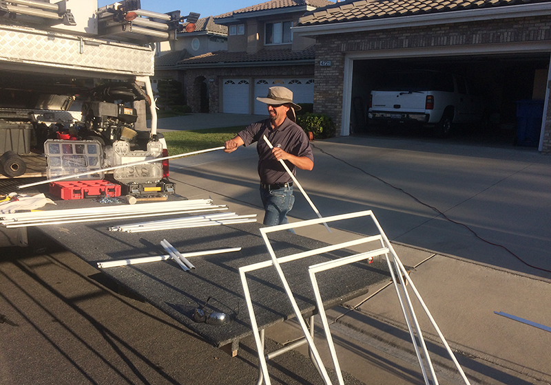 Window frame replacement and rescreening, Tustin