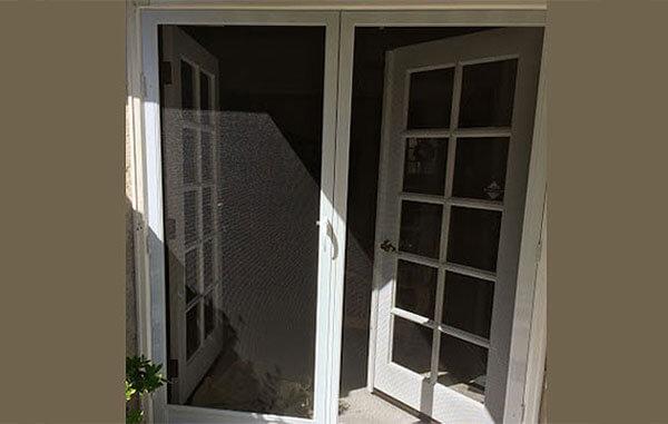 Vanishing Retractable Screen Door : Retractable screen door installation repair disappearing
